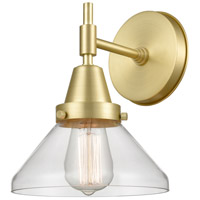 Satin Brass Glass Caden Wall Sconces