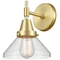 Innovations Lighting 447-1W-SB-SDY-LED Caden LED 8 inch Satin Brass Sconce Wall Light