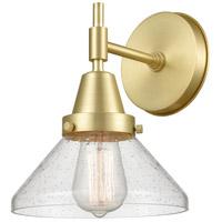Innovations Lighting 447-1W-SB-SDY Caden 1 Light 8 inch Satin Brass Sconce Wall Light