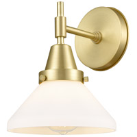 Innovations Lighting 447-1W-SB-W-LED Caden LED 8 inch Satin Brass Sconce Wall Light