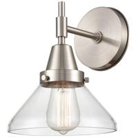 Innovations Lighting 447-1W-SN-CL Caden 1 Light 8 inch Satin Nickel Sconce Wall Light