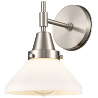 Innovations Lighting 447-1W-SN-W Caden 1 Light 8 inch Satin Nickel Sconce Wall Light