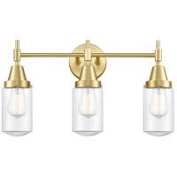 Innovations Lighting 447-3W-SB-G312-LED Caden LED 23 inch Satin Brass Bath Vanity Light Wall Light