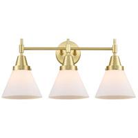 Innovations Lighting 447-3W-SB-G41-LED Caden LED 26 inch Satin Brass Bath Vanity Light Wall Light