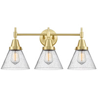 Innovations Lighting 447-3W-SB-G44 Caden 3 Light 26 inch Satin Brass Bath Vanity Light Wall Light