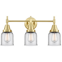 Innovations Lighting 447-3W-SB-G52 Caden 3 Light 23 inch Satin Brass Bath Vanity Light Wall Light