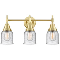 Innovations Lighting 447-3W-SB-G54 Caden 3 Light 23 inch Satin Brass Bath Vanity Light Wall Light