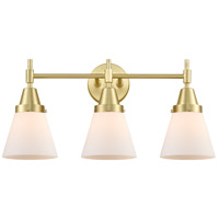 Innovations Lighting 447-3W-SB-G61 Caden 3 Light 24 inch Satin Brass Bath Vanity Light Wall Light
