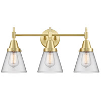 Innovations Lighting 447-3W-SB-G62 Caden 3 Light 24 inch Satin Brass Bath Vanity Light Wall Light