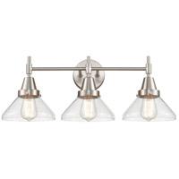 Innovations Lighting 447-3W-SN-SDY Caden 3 Light 26 inch Satin Nickel Bath Vanity Light Wall Light