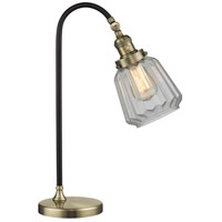 Innovations Lighting 515-1L-BAB-G142-LED Black Brook 22 inch 3 watt Black Antique Brass Lamp Portable Light