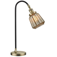 Innovations Lighting 515-1L-BAB-G146-LED Black Brook 22 inch 3 watt Black Antique Brass Lamp Portable Light