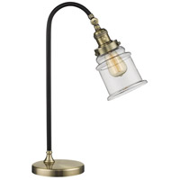 Innovations Lighting 515-1L-BAB-G182-LED Black Brook 22 inch 3 watt Black Antique Brass Lamp Portable Light