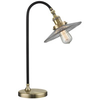 Innovations Lighting 515-1L-BAB-G2-LED Black Brook 22 inch 3 watt Black Antique Brass Lamp Portable Light