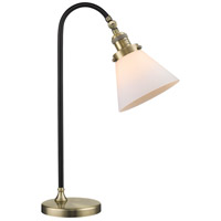 Innovations Lighting 515-1L-BAB-G41-LED Black Brook 22 inch 3 watt Black Antique Brass Lamp Portable Light