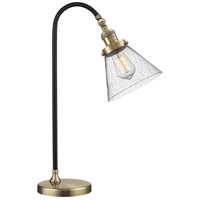 Innovations Lighting 515-1L-BAB-G44-LED Black Brook 22 inch 3 watt Black Antique Brass Lamp Portable Light