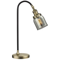Innovations Lighting 515-1L-BAB-G53-LED Black Brook 22 inch 3 watt Black Antique Brass Lamp Portable Light