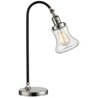 Innovations Lighting 515-1L-BPN-G192-LED Black Brook 22 inch 3 watt Black Polished Nickel Lamp Portable Light