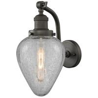Innovations Lighting 515-1W-OB-G165-LED Geneseo LED 7 inch Oil Rubbed Bronze Sconce Wall Light Franklin Restoration