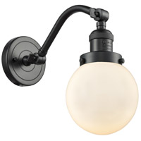 Innovations Lighting 515-1W-OB-G201-6 Beacon 1 Light 6 inch Oil Rubbed Bronze Sconce Wall Light Franklin Restoration