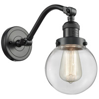 Innovations Lighting 515-1W-OB-G202-6 Beacon 1 Light 6 inch Oil Rubbed Bronze Sconce Wall Light Franklin Restoration
