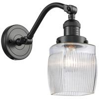 Innovations Lighting 515-1W-OB-G302 Colton 1 Light 6 inch Oil Rubbed Bronze Sconce Wall Light Franklin Restoration
