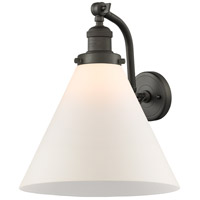 Innovations Lighting 515-1W-OB-G41-L X-Large Cone 1 Light 12 inch Oil Rubbed Bronze Sconce Wall Light Franklin Restoration