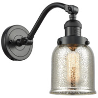 Innovations Lighting 515-1W-OB-G58-LED Small Bell LED 5 inch Oil Rubbed Bronze Sconce Wall Light Franklin Restoration