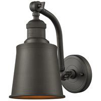 Innovations Lighting 515-1W-OB-M9-OB-LED Addison LED 5 inch Oil Rubbed Bronze Sconce Wall Light