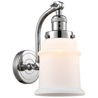 Innovations Lighting 515-1W-PC-G181 Canton 1 Light 7 inch Polished Chrome Sconce Wall Light Franklin Restoration