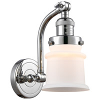 Innovations Lighting 515-1W-PC-G181S Small Canton 1 Light 7 inch Polished Chrome Sconce Wall Light Franklin Restoration
