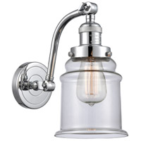 Innovations Lighting 515-1W-PC-G182 Canton 1 Light 7 inch Polished Chrome Sconce Wall Light