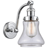 Polished Chrome Steel Bellmont Wall Sconces