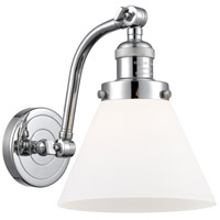 Innovations Lighting 515-1W-PC-G41 Large Cone 1 Light 8 inch Polished Chrome Sconce Wall Light