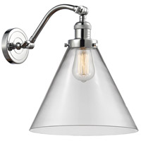 Innovations Lighting 515-1W-PC-G42-L X-Large Cone 1 Light 12 inch Polished Chrome Sconce Wall Light Franklin Restoration