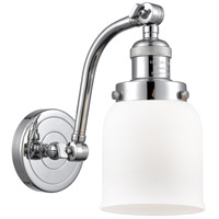 Innovations Lighting 515-1W-PC-G51-LED Small Bell LED 5 inch Polished Chrome Sconce Wall Light