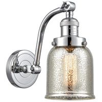 Innovations Lighting 515-1W-PC-G58-LED Small Bell LED 5 inch Polished Chrome Sconce Wall Light Franklin Restoration