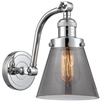 Innovations Lighting 515-1W-PC-G63 Small Cone 1 Light 7 inch Polished Chrome Sconce Wall Light