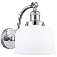 Innovations Lighting 515-1W-PC-G71 Large Bell 1 Light 8 inch Polished Chrome Sconce Wall Light Franklin Restoration