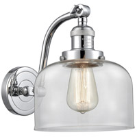 Innovations Lighting 515-1W-PC-G72 Large Bell 1 Light 8 inch Polished Chrome Sconce Wall Light