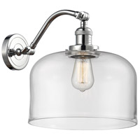 Polished Chrome X-Large Bell Wall Sconces