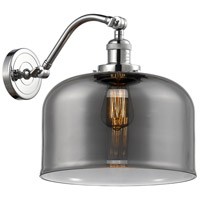 Innovations Lighting 515-1W-PC-G73-L X-Large Bell 1 Light 12 inch Polished Chrome Sconce Wall Light Franklin Restoration