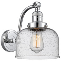 Innovations Lighting 515-1W-PC-G74 Large Bell 1 Light 8 inch Polished Chrome Sconce Wall Light