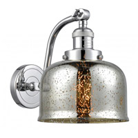 Innovations Lighting 515-1W-PC-G78 Large Bell 1 Light 8 inch Polished Chrome Sconce Wall Light Franklin Restoration