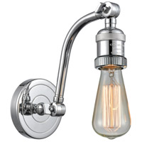 Innovations Lighting 515-1W-PC Bare Bulb 1 Light 5 inch Polished Chrome Sconce Wall Light