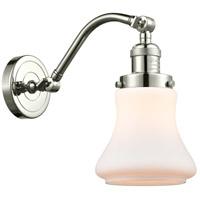 Innovations Lighting 515-1W-PN-G191-LED Bellmont LED 7 inch Polished Nickel Sconce Wall Light Franklin Restoration