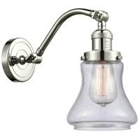 Innovations Lighting 515-1W-PN-G194-LED Bellmont LED 7 inch Polished Nickel Sconce Wall Light Franklin Restoration
