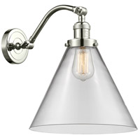 Innovations Lighting 515-1W-PN-G42-L X-Large Cone 1 Light 12 inch Polished Nickel Sconce Wall Light Franklin Restoration