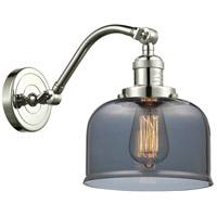 Innovations Lighting 515-1W-PN-G73-LED Large Bell LED 8 inch Polished Nickel Sconce Wall Light Franklin Restoration