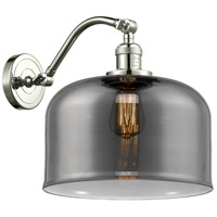 Innovations Lighting 515-1W-PN-G73-L X-Large Bell 1 Light 12 inch Polished Nickel Sconce Wall Light Franklin Restoration